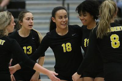 2019 Gilbert Girls Volleyball vs Williams Field 9-25-19