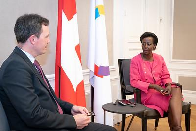 SEM Martin MICHELET, Représentant personnel du Président de la Confédération Suisse au CPF, Délégué permanent auprès de l'UNESCO - Paris
