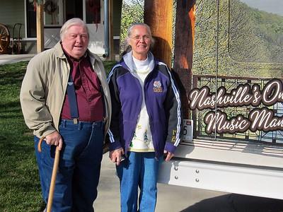 Fontanel Mansion in Nashville, TN, December 2011