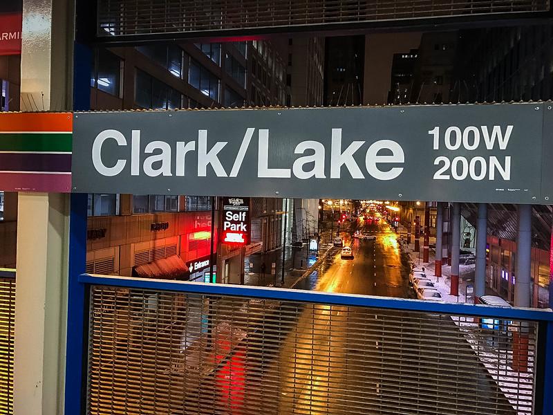 clark lake station