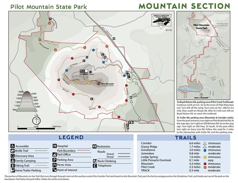 Pilot Mountain State Park (Mountain Section)