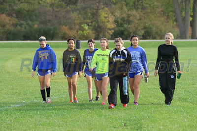 Girls' Race - 2016 MHSAA D4, Region 36 XC
