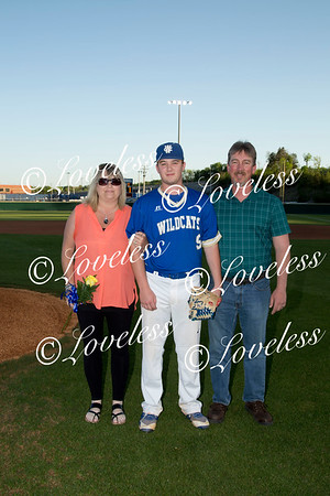 Baseball Senior Night 4/30/18