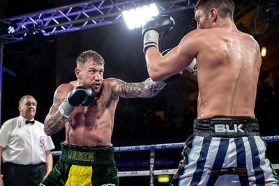 British Middleweight Tiltle - Tommy Langford vs Jason Welborn 04-05-2018