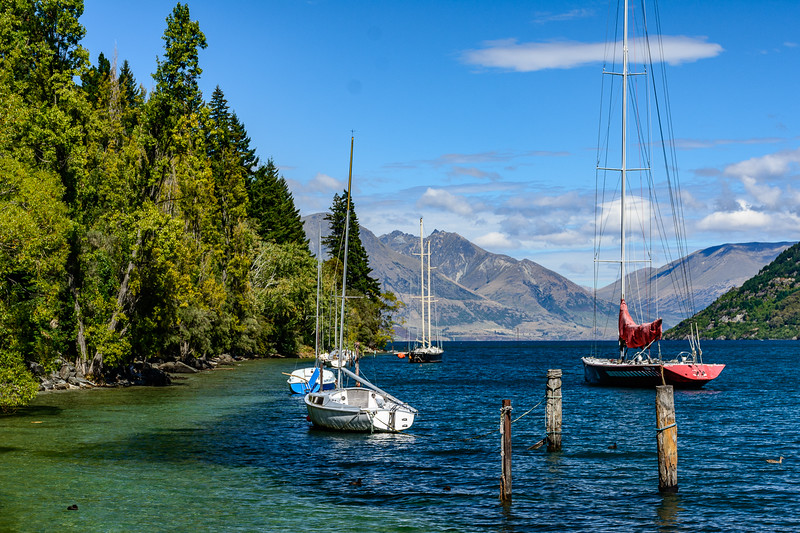 Lake Wakatipu, Queenstown, NZ