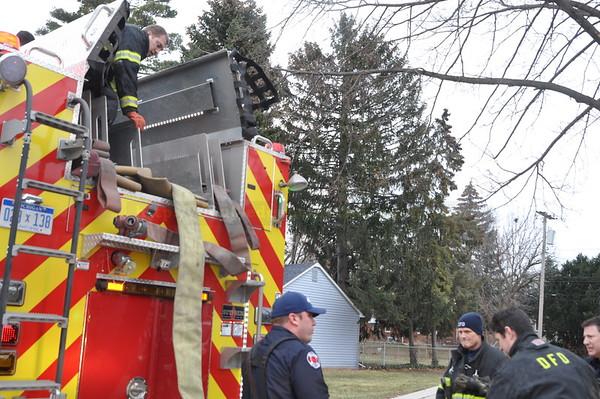 Dearborn - Mead Street - House Fire