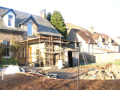 House extension at Campsie Glen