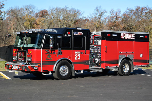 Middlesex County Fire Apparatus