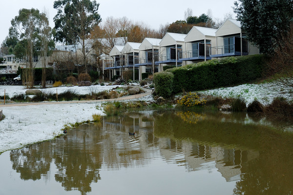 Daylesford in Snow