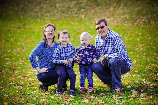 Hubert Fall Family Portrait Session