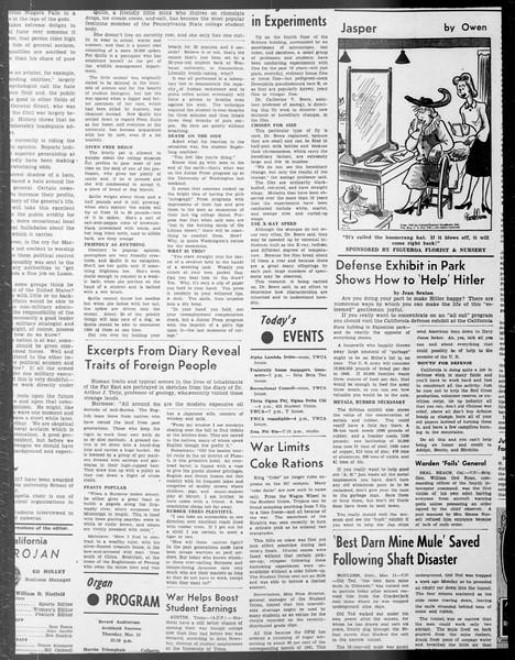 Daily Trojan, Vol. 33, No. 89, January 16, 1942