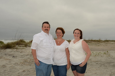 Kathy Keely Family. April 5, 2013 St.Augustine Beach,Fl.