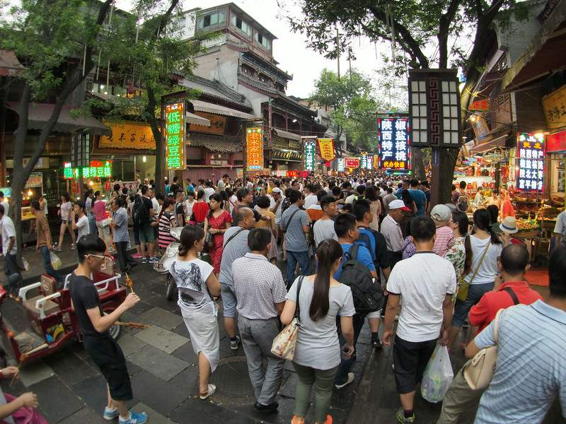 20140816_2009_2718 Muslim markets, near 鼓楼 Drum Tower, Xi'an