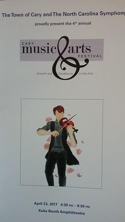 2017-04-30 Cary Music & Arts Festival