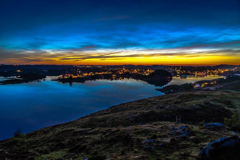 Alvsvåg by Night