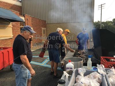 aquin booster corn boil returns . 8.18.18
