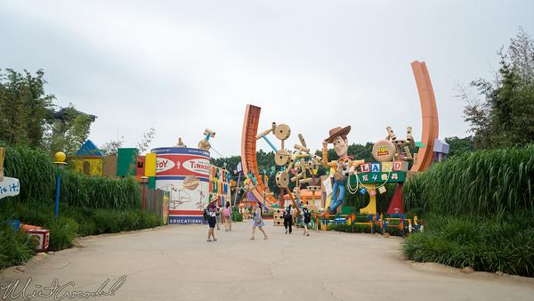 Disneyland Resort, Hong Kong Disneyland, Toy Story Land, Toy Story, Toy, Story