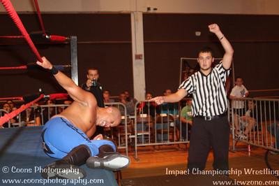 ICW 9/29/12 - Ricky Reyes vs The Blk Jeez