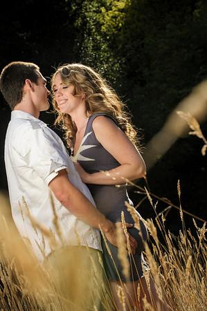 Kaelin and Jayson - Engagement Photography, Henry Cowell, Felton, California
