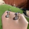 .69ctw Vintage Diamond Double Drop Earrings, French 1