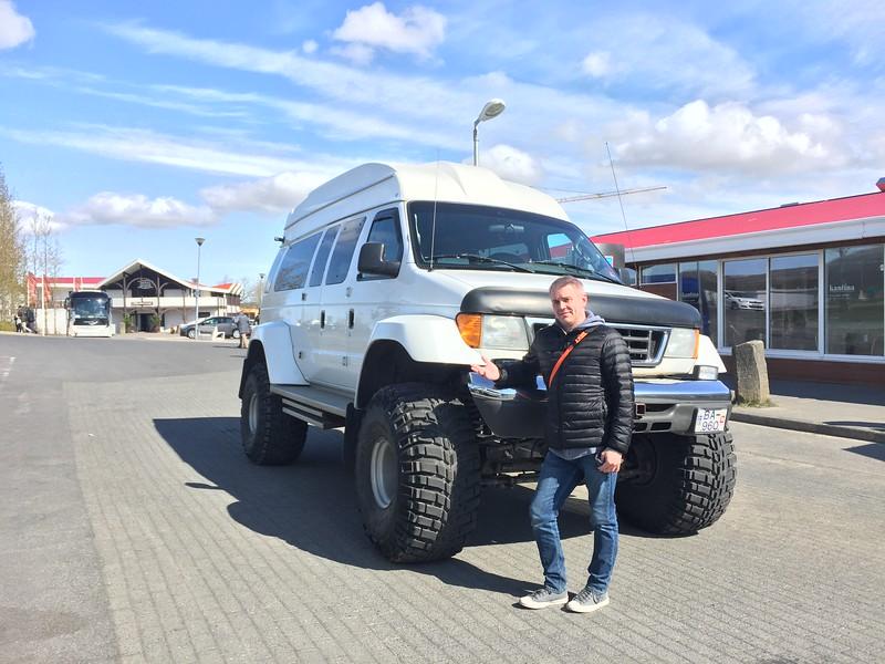 2016.05.21 - Reykjavik, Iceland. Geysers...rental truck!