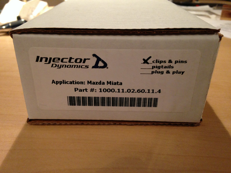 Injector Dynamics ID1000 injectors arrive