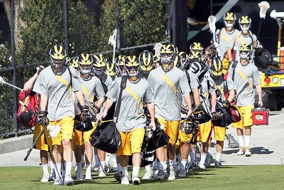 ASU Lacrosse vs Cal 2-16-13