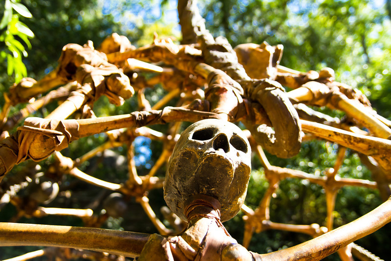 Skull Cage on Tom Sawyer's Island