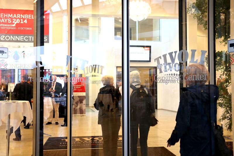 Tivoli congress centre, Fehmarnbelt Days, Copenhagen, 2014