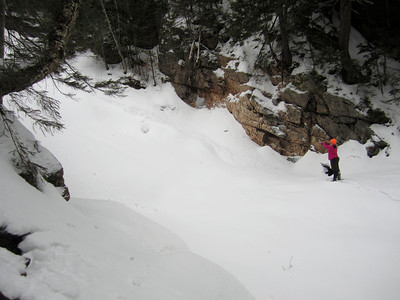 Ripley and Arethusa Falls winter hike