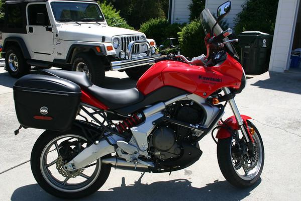 2008 Kawasaki Versys KLE650