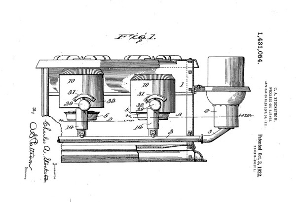 Patent Documentation for the American Stove Company