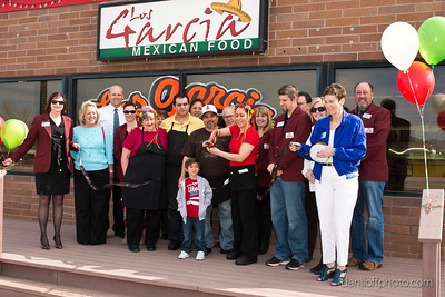Los Garcia Mexican Restaurant - Ribbon Cutting - Sandy Area Chamber of Commerce