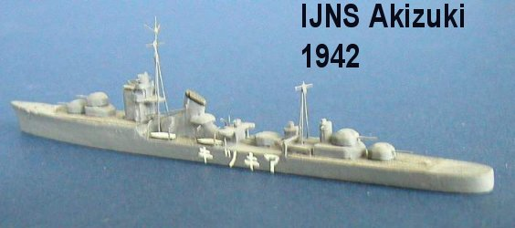 Japan WW2 Destroyers