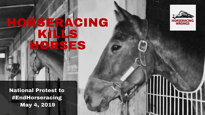 National Protest to End Horseracing • Derby Day