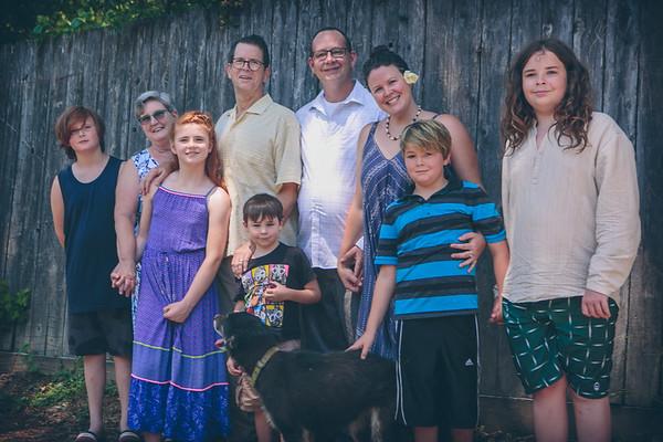 Sonn Family 2021 + Michael Headsshots
