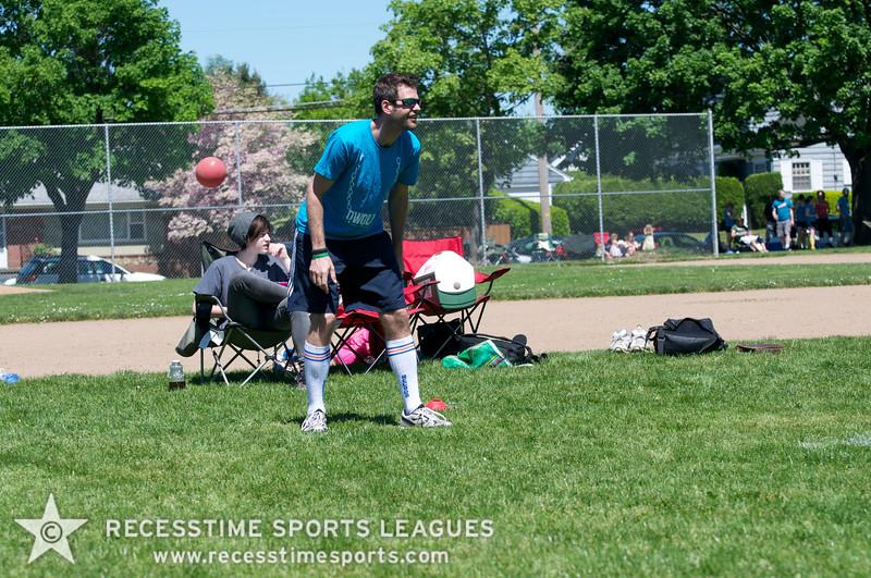 Recesstime Sports Leagues Portland Kickball Spring 2013 Dodgeball Bowling Ping Pong Mushball - 051