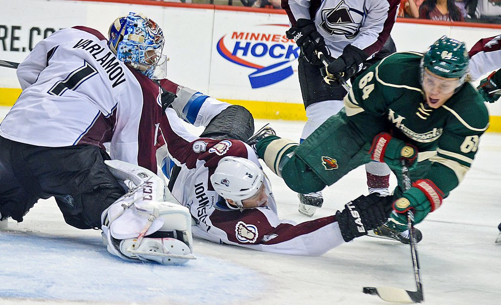 ". <p>1. MIKAEL GRANLUND <p>If not for his mad dash, they�d probably STILL be playing. (unranked) <p><b><a href=\'http://www.twincities.com/sports/ci_25610641/wild-1-avalanche-0-granlund-goal-wins-it\' target=""_blank\""> LINK </a></b> <p>    (Pioneer Press: Ben Garvin)"