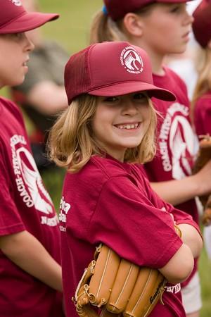 1st and 2nd Grade Softball - June 3