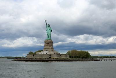 Lady Liberty and Ellis Island