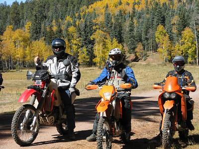 Jemez Mtns. - Western Jemez DS Ride  10-19-08