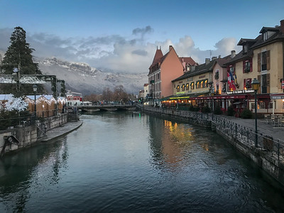 Annecy, France  Christmas 2017