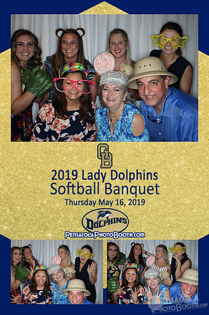 GBHS Lady Dolphins' Softball Banquet 5-16-2019