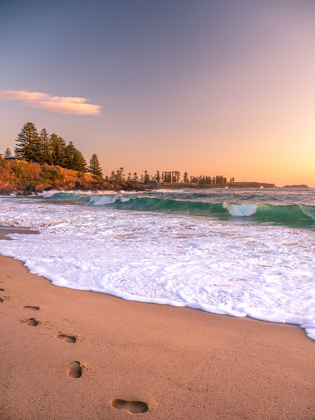 Sunrise at Kendalls Beach Kiama