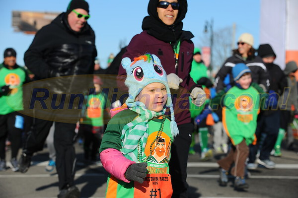 Kids' Run Start - 2017 Corktown Races