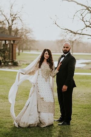 Amber & Hassan Wedding Day