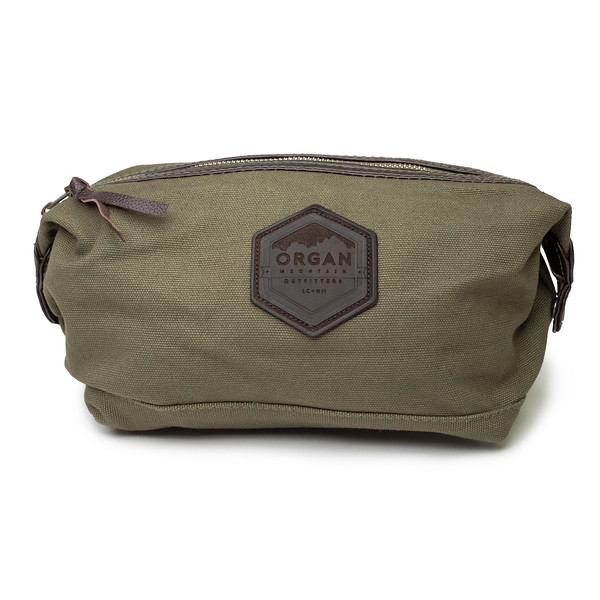 Outdoor Apparel - Organ Mountain Outfitters - Bags - Leather and Canvas Travel Kit - Olive Drab.jpg