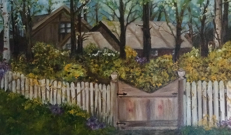 House with Fence