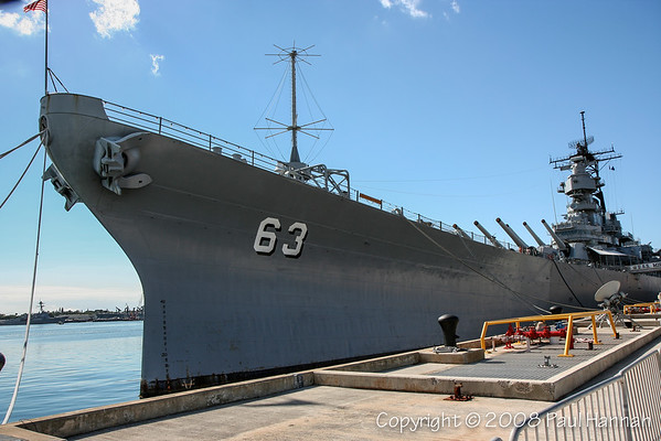 USS Missouri - Pearl Harbor - Honolulu, HI