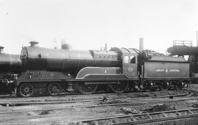 The Robinson Class D11-1 (GCR Class 11F) 'Improved Director' 4-4-0 Locomotives (GCR+LNER days)